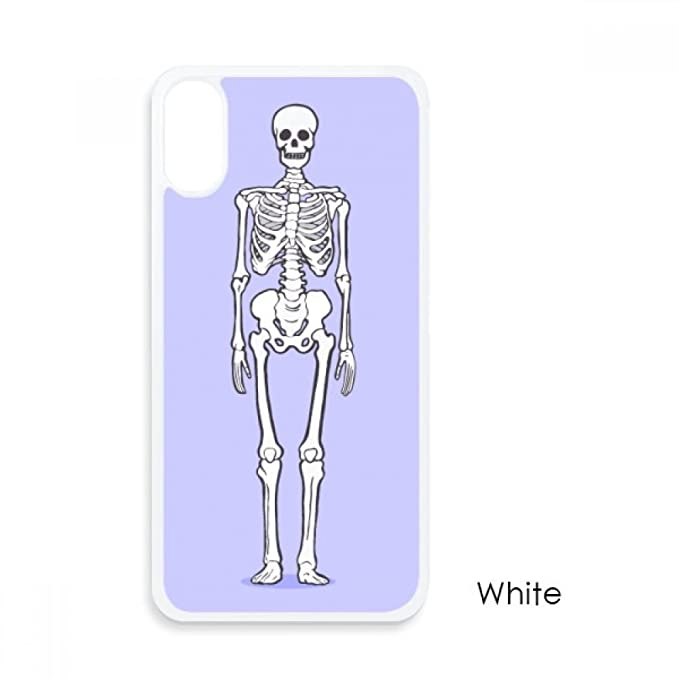 Amazon Human Body Bone Structure For Iphone X Cases White