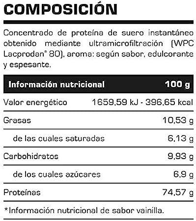 WHEY PROTEIN 100% 2 lb FRESA - Suplementos Alimentación y ...