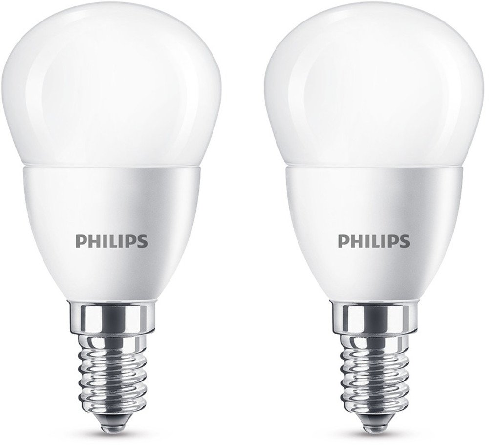 philips led lampe ersetzt 40 w e14 warmwei 2700k 470. Black Bedroom Furniture Sets. Home Design Ideas