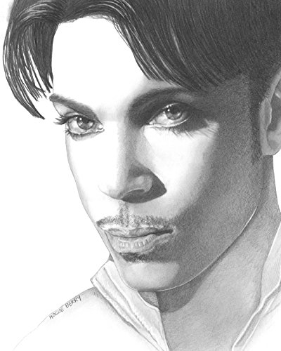 Prince, Prince Rogers Nelson, 8x10 Art Print by Wendy Hogue - 10 Rogers My