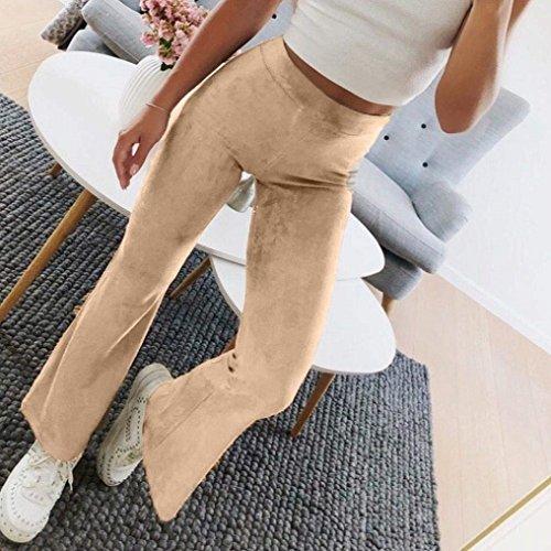 Trousers Donna Ragazze Elasticit Autunno Giovane Colpo Waist Pantaloni High Primaverile 4Or4qf