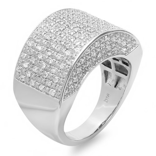 1/2 Carat Mens Diamond Ring - 1