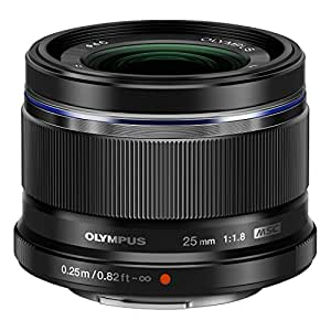 Olympus 25mm f1.8 Interchangeable Lens (Black)