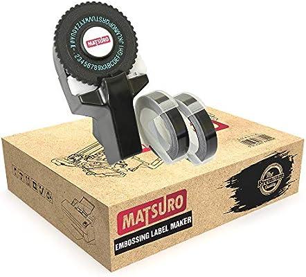 Matsuro Original | Mini 3D Impresora de etiquetas M-101 con 2 ...