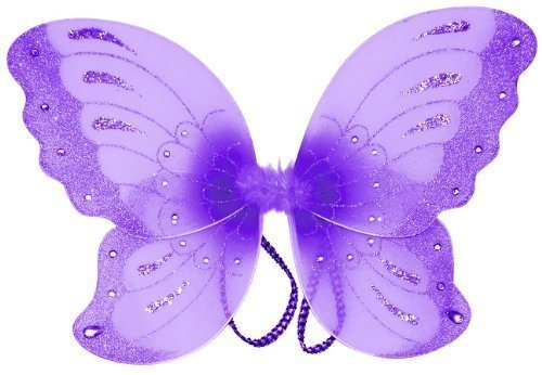 bienvenido a comprar Jewel Jewel Jewel Butterfly Fairy Wings (21 ) Select Color  púrpura by Cutie Collection  solo para ti
