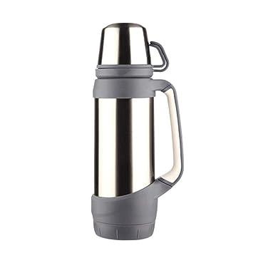Amazon.com: FQQbb12 Thermos - Botella de agua con correa ...
