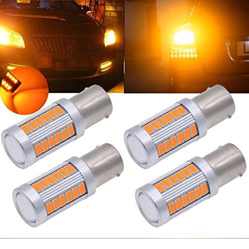 1156 led bulb amber - 6