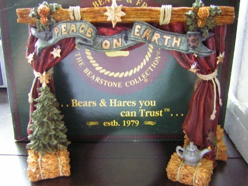 - Boyds Bears & Friends Nativity Series #4 THE STAGE From The Bearstone Collection