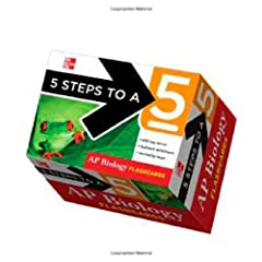 5 Steps to a 5 AP Biology Flashcards (5 Steps to a 5 on the Advanced Placement Examinations Series) Mark Anestis