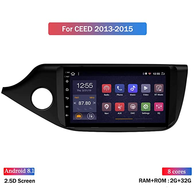 Android Car MP5 Player con Pantalla T/áctil De 9 Pulgadas GPS Navegador para Kia Ceed 2012-2016 Mirror Link Radio FM WiFi Bluetooth Multimedia Reproductor De Video Est/éreo