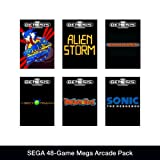 51Fk7%2BwLA%2BL. SL160  SEGA 48 Game Mega Arcade Pack [Online Game Code] Review