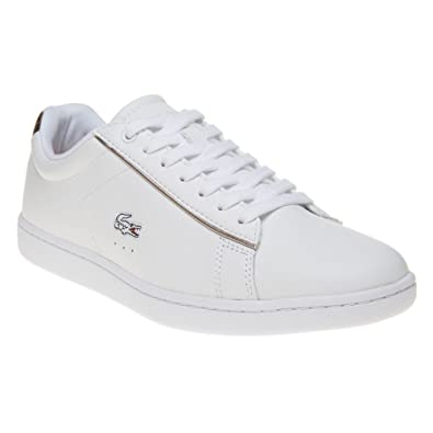 709f9da86b9589 Lacoste Carnaby Evo Trainers White 3 UK  Amazon.co.uk  Shoes   Bags