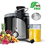 Best Easy@Home Juicers - Homgeek Juicer, Juicer Extractor with Wide Mouth, Centrifugal Review
