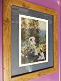 Framed Print (9x11) - Mother & Daughter in the Garden offers