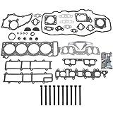 toyota gasket kit engine - NEW EH027T1HBSI Graphite Cylinder Head Gasket Set, Head Bolt Kit, & RTV Gasket Maker for Toyota 2.4L Pickup 4Runner Celica 22RE 22REC SOHC (8-Valve) Engine 1985-95
