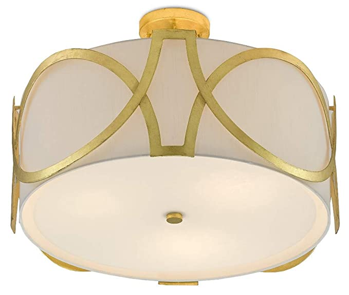 Amazon.com: Currey & Company Lighting Legrand Semi-Flush ...