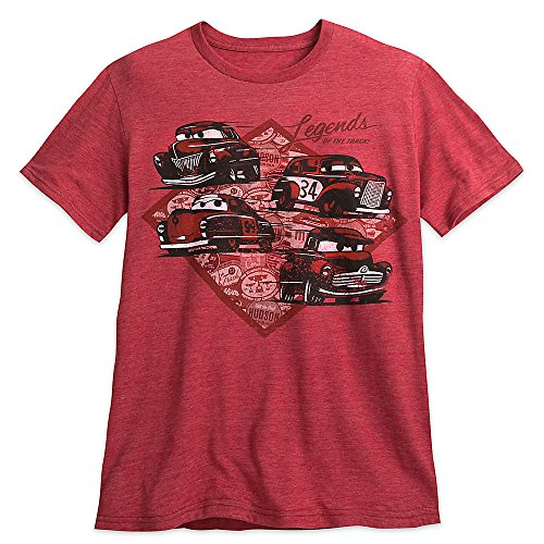 Disney Cars 3 Tee for Men - The dynamic Doc Hudson is featured on this soft slubbed tee honoring the Legends of the Track ...