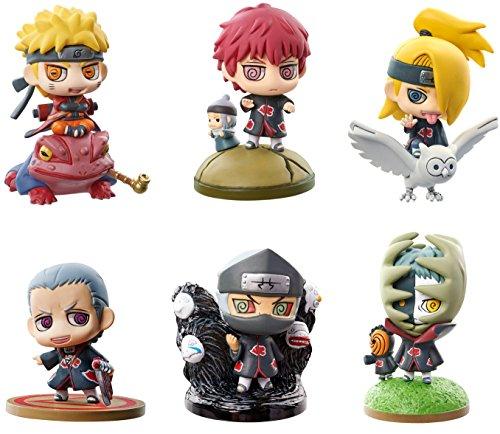 Megahouse Petit Chara Land - NARUTO Shippuden: Kuchiyose! Naruto to Akatsuki Hen Part.1 6Pack BOX