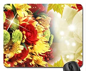 Abundance of Colors Mouse Pad, Mousepad (Flowers Mouse Pad)