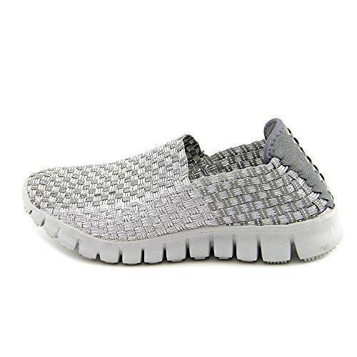 Corkys Joann Frauen Slip On Silber-Grau