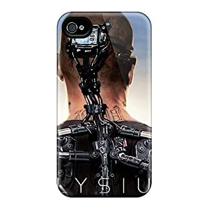 Cute Tpu LastMemory Elysium Movie Case Cover For Iphone 5/5s