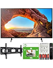 $1159 » Sony KD65X85J 65-inch X85J 4K Ultra HD LED Smart TV (2021 Model) Bundle with TaskRabbit Installation Services + Deco Gear Wall Mount + HDMI Cables + Surge Adapter