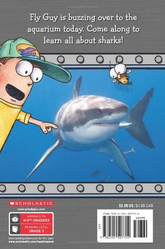fly guy presents  sharks  scholastic reader  level 2