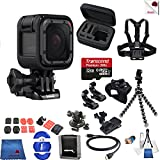 Photo : Gopro Hero 5 Session 15 Piece Hooked Bundle Includes: Go Pro Hero5 Session + Case + Flexible Tripod + Chest Strap + Glove Mount + More