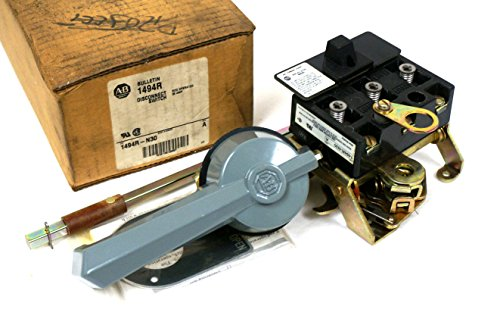 NEW ALLEN BRADLEY 1494R-N30 ROTARY DISCONNECT SWITCH SER. A, 1494RN30 (Switch Disconnect Rotary)
