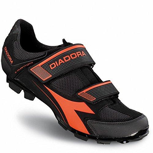 X 2 Diadora Mod Nere Fluorescenti phantom Coppia Bici Mtb arancio Scarpe 0gwFFXqH