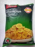 Chheda's Yellow- Banana Chips - Fresh banana finely sliced fried & seasoned with salt. Vegetarian - 500 grams