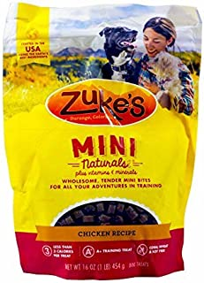 product image for Zuke's Mini Naturals Dog Treats, Chicken 16oz (Pack of 3)