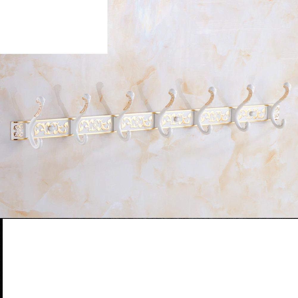 outlet European-style bathroom hooks/Wardrobe clothes towel hook/ wall-wall hooks/row hook-I