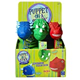 Educational Insights Dinosaur Puppet-on-a-Stick Party Pack of 9