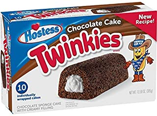 product image for Hostess Chocolate Cake Twinkies, 10 Count, 13.58 Ounce (Pack of 1)-SET OF 3 Pack of 10