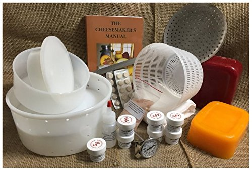 Homesteader's Supply Supreme Cheese Making Kit by Homesteader's Supply