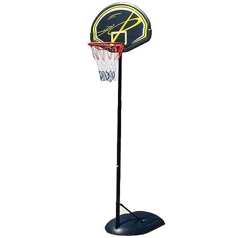 SUON Canasta Aro De Baloncesto Altura Ajustable 245-305cm con ...