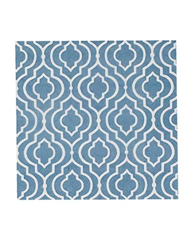 Eightmood 60 Count 3-Ply Paper Lunch or Dinner Napkins, Ornament