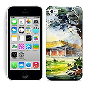 Running Gary Oil Painting With Quite World Hard Phone Case For iphone 6 plus