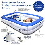 EnerPlex Kids Inflatable Toddler Travel Bed with