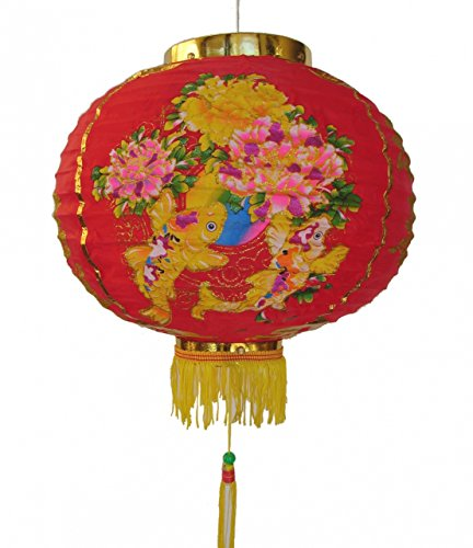 Feng Shui Import Chinese Red Lantern