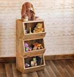 Storage Bin for kids toys or mudroom - Made from Reclaimed Wood