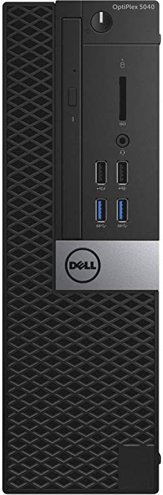 Dell OptiPlex 5040 Small Form Factor PC, Intel Quad Core i7-6700 up to 4.0GHz, 16G DDR3L, 512G SSD, Windows 10 Pro 64 Bit-Multi-Language Supports English/Spanish/French(Renewed)