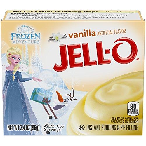 JellO Instant Vanilla Pudding amp Pie Filling 34 oz Box