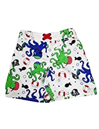 Baby Boy Swim Trunks Octopus Beach Swim Short