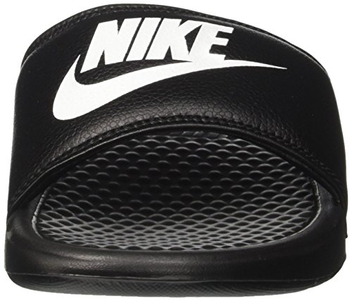 Nike Mens Benassi Basta Farlo Sandalo Atletico Nero / Bianco Noir / Bianco