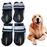 WUXIAN Waterproof Dog Shoes,Dog Outdoor Shoes, Running Shoes for...