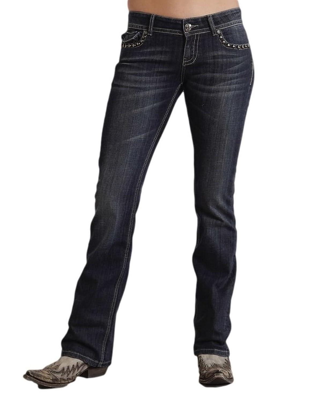 Stetson Women's 818 Contemporary Bootcut Jeans - 11-054-0818-0290 Bu