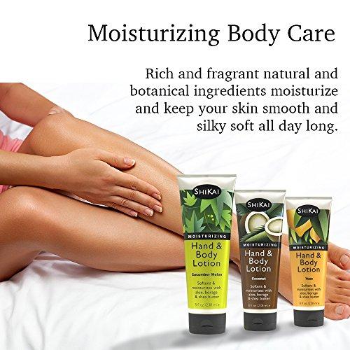 Shikai Hand & Softens & with Borage Oil Shea Butter, Sensually Skin Delicious Fragrances
