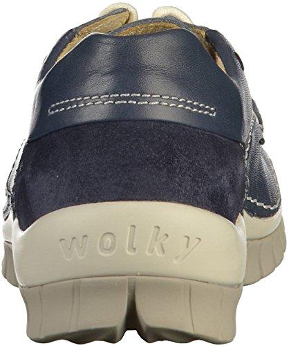 Fly Wolky 4701 787 Schnürschuhe Summer Blue Leather nbsp;funda wttFfP